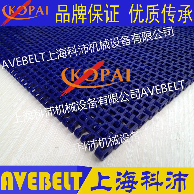 1100塑料网带 平格型输送网带链 15.2mm节距模块网带链
